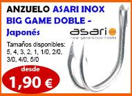 wiliamson, asari, anzuelo, igfa, marlin, www.deportespineda.com