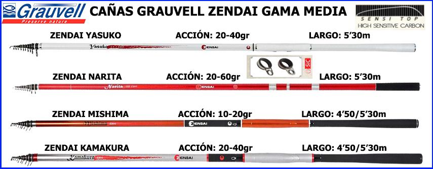 Caña Grauvell ZENDAI