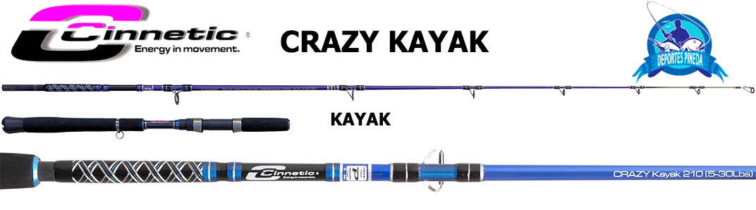 Cinnetic Crazy Kayak