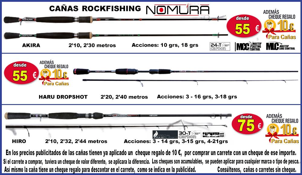 publicidad cañas rockfishing